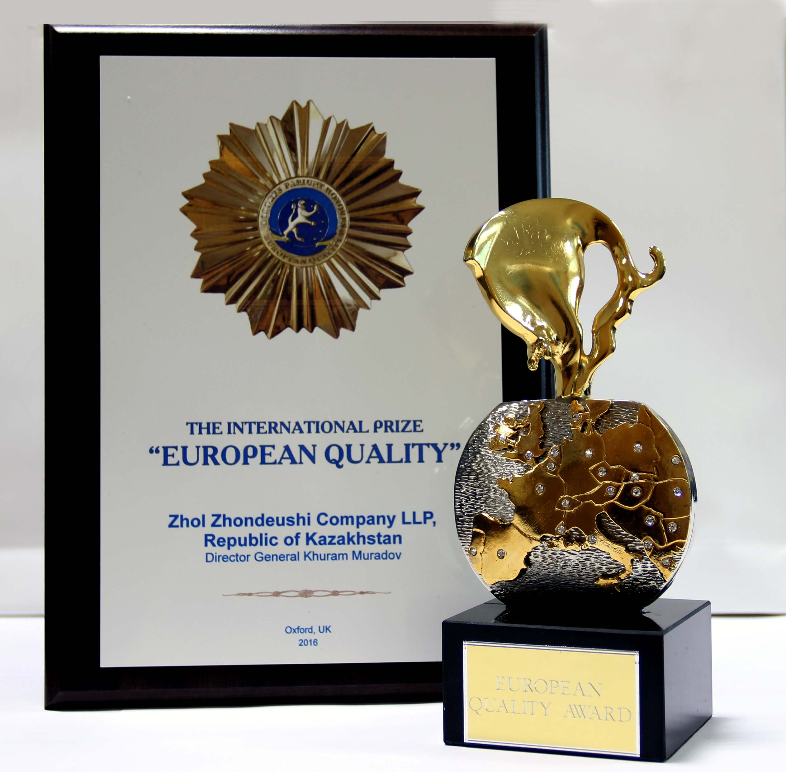 international European Quality award