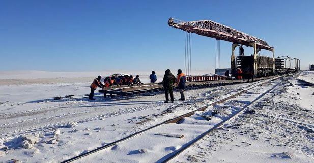 Rehabilitation of track for actyubinsk  COPPER COMPANY (ACC) LLP 62,98 km (2018)